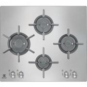 Electrolux Rex/electrolux Egu6647lox Piano Cottura A Gas 60 Cm 4 Fuochi Colore Inox