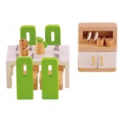 Hape-Wooden Dining Room