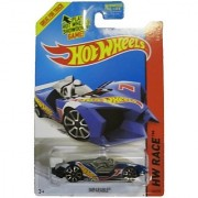 Hot Wheels 2014 Hw Race Team Blue Imparable Racing Car 149/250
