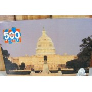 United States Capital Building USA 500-pc Puzzle