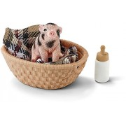 SCHLEICH NORTH AMERICA Schleich Pig with Bottle Set Mini Toy