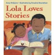 Lola Loves Stories, Paperback