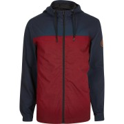 Only and Sons Mens Only and Sons Red colour blocked jacket (XL)