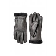 Hestra Deerskin Primaloft Rib Glove Black Herr Hestra