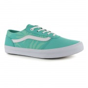 Shoes Vans Milton W Palms mint/white