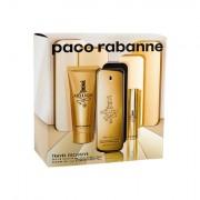 Paco Rabanne 1 Million confezione regalo eau de toilette 100 ml + doccia gel 75 ml + eau de toilette 10 ml uomo