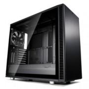 Кутия Fractal Design Define S2 Blackout – TG, mATX, ATX, ITX, EATX, USB 3.1 Gen 2 Type-C, черна, без захранване