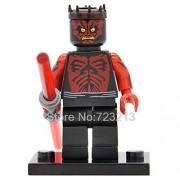Generic Figure R2D2 Old Luke Child Anakin Skywalker Jedi Knight Sith Warrior R4P17 Legoingly Building Blocks Model Toys X0124 Darth Maul
