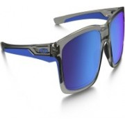 Oakley Wayfarer Sunglass(Brown, Blue)
