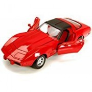1979 Chevy Corvette, Red - Motormax Premium American 73244 - 1/24 Scale Diecast Model Car