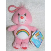 Care Bears Plush Cheer Bear Clip On Doll