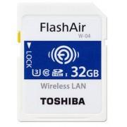 Toshiba SDHC FLASH AIR WIFI 32GB CLASSE 10 W-04 - WIRELESS CARD