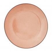 Xenos Dinerbord Emma - terra roze - ⌀25 cm