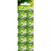 Gp Batteries Blister 10 Batterie Alcaline Specialistiche LR620