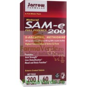 SAM-E 200 mg Hepatic-Cerebral-Osteo-articular 60 tablete Secom