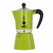 "Espressokocher Bialetti ""Moka Rainbow 6-cup Green"""