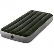 Colchon Cama Verde Inflable Standard Bomba Pie 64760 Intex
