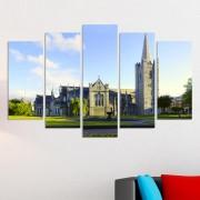 Декоративни панели за стена с изглед от Дъблин Vivid Home