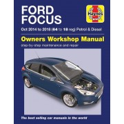 Haynes Manuel d'atelier Ford Focus Essence & Diesel (Oct 2014 - 2018) 6417