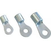 Papuc inelar neizolat,cupru electrolitic stanat - 10mm2, M10, (d1=4,7mm, d2=10,5mm) SZ10-10 - Tracon