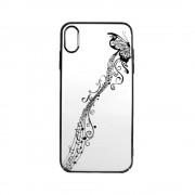 Carcasa iPhone XS / X Devia Papillon Black