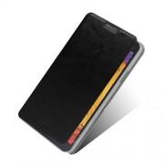 Елегантен кожен калъф за Samsung Galaxy Note 3 Neo - черен