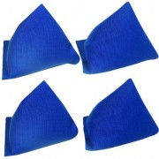GSI Pack of 4 Blue Pyramid Toss Bean Bags for Activity Games