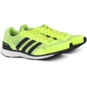 Adidas ADIZERO ADIOS M Running Shoes For Men(Green)