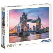 Puzzle 1500 piezas Puente Torre Londres - Clementoni