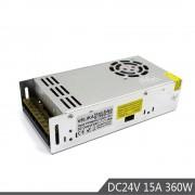 Kleine Volume Stroomvoorziening DC 24 V 15A 360 W Led Driver 220 V 110 V AC DC24V Stroombron Voor CCTV 3D Printer Led verlichting