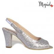 Pantofi dama din piele naturala 241005/Gri/Afina