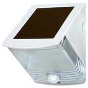 Napelemes LED falilámpa SOL 04 IP44 infravörös mozgásérzékelovel 4xLED 30lm Szinek Fehér