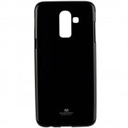 Husa Capac Spate Jelly Negru SAMSUNG Galaxy J8 Plus 2018
