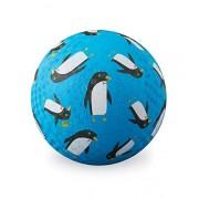 "Crocodile Creek Penguins Playground Ball, Blue, 7"""