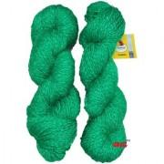 Vardhman Charming Green 200 gm hand knitting Soft Acrylic yarn wool thread for Art & craft Crochet and needle