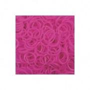 Elastice Rainbow Loom - Jelly Roz-600 buc