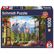 Puzzle View of the fairytale castle, 1000 piese