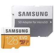 Cartão de Memória MicroSDXC Samsung Evo MB-MP128GA/EU - 128GB