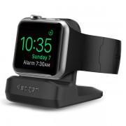 Spigen Noční nabíjecí stojánek pro Apple Watch - Spigen, S350 Night Stand Black