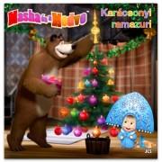 Masha és a Medve: Karácsonyi ramazuri mesekönyv