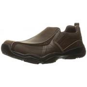 Skechers USA Men s Larson Berto Slip-On Loafer Dark Brown Leather 10 D(M) US