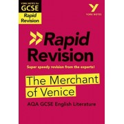 York Notes for AQA GCSE (9-1) Rapid Revision: The Merchant of Venice, Paperback/Mike Gould