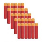 Ennrui 120Pcs 9.5cm Red Foam Darts Refill for Nerf N-strike Elite Mega Series Blasters Toy Gun by COSORO