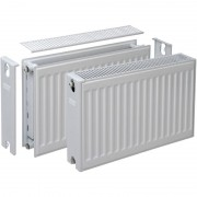 Plieger Compact radiator type 22 400 x 1200mm 1529W