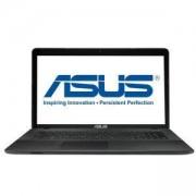 Лаптоп Asus X751NV-TY001, Intel Quad-Core Pentium N4200 (up to 2.5 GHz, 2MB), 17.3 инча, 90NB0EB1-M00130