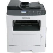 Multifunctional Lexmark MX317dn, laser alb-negru, Fax, A4, 33 ppm, Duplex, ADF, Retea
