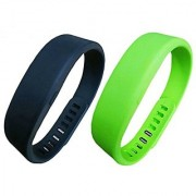 SUPOW(TM) 2PCs Large Size Durable Soft Moderate Waterproof Replacement SmartBand Smart Wristband Band Wrist Strap For SO