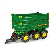 Rolly Toys 125043 Franz Cutter John Deere Three Side Multi-Trailer
