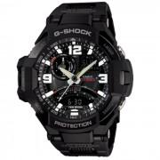 Reloj para hombre Casio G-choque GA-1000FC-1A-Negro y Blanco