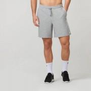Myprotein Logo Shorts - S - Grey Marl